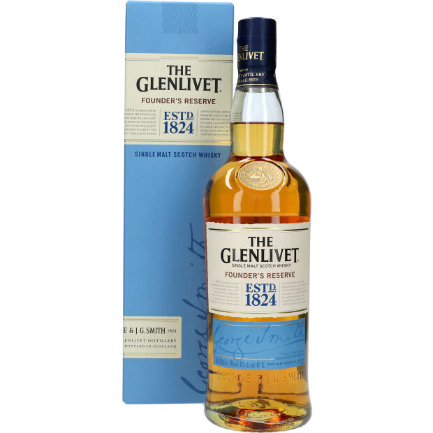 The Glenlivet Founders Reserve 40% 0,7 ltr.