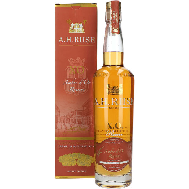 A.H.Riise XO Ambre d`or Reserve 42% 0,7 ltr
