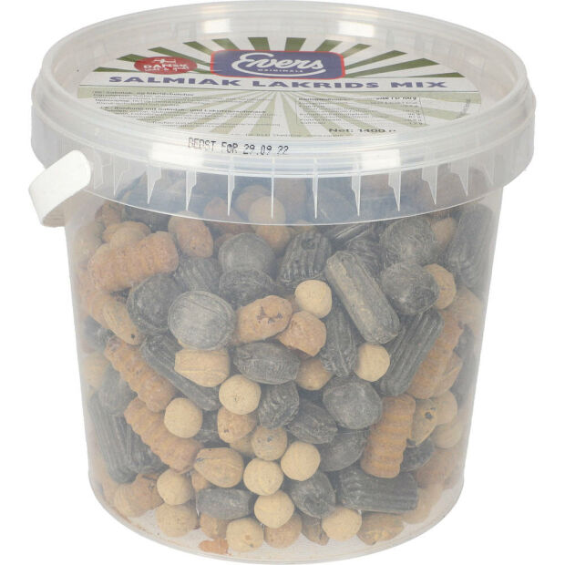 Evers Salmiak Lakrids Mix 1400g
