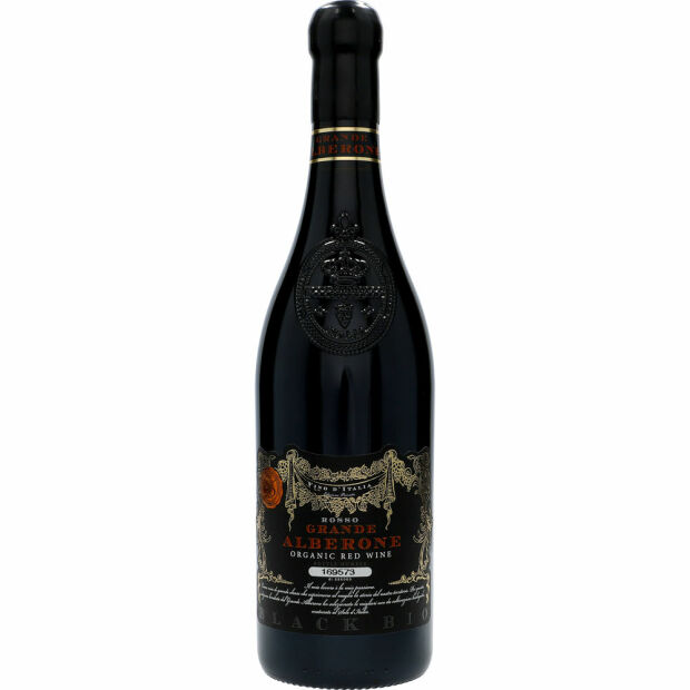 Grande Alberone  Organic Red Wine Black BIO 14% 0,75 ltr.
