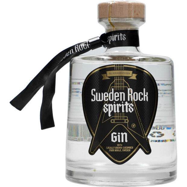 Sweden Rock Spirits Gin 41% 0,7 ltr.