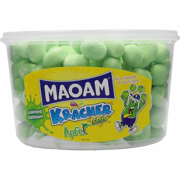 Haribo Maoam Kracher Sour Apfel 150 St.