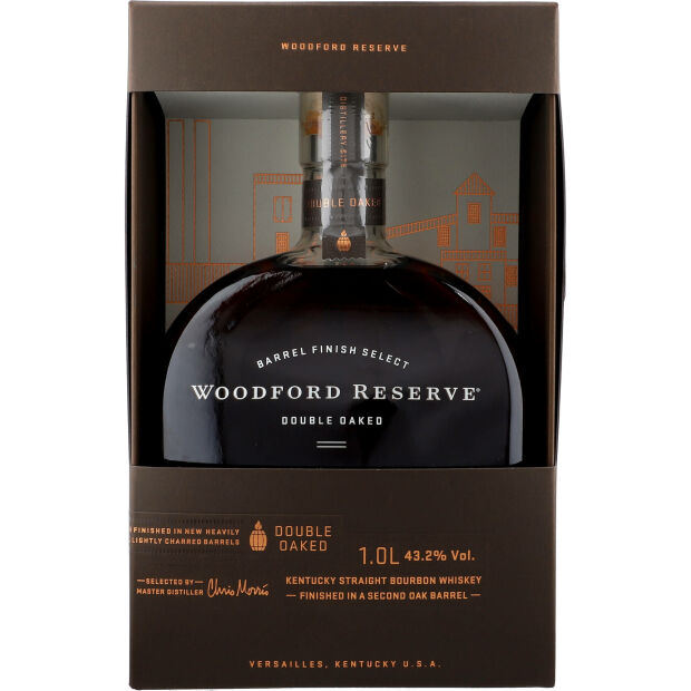 Woodford Double Oaked 43,2% 1 ltr.