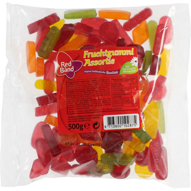 Red Band Fruchtgummi Assortiel 500g Bt