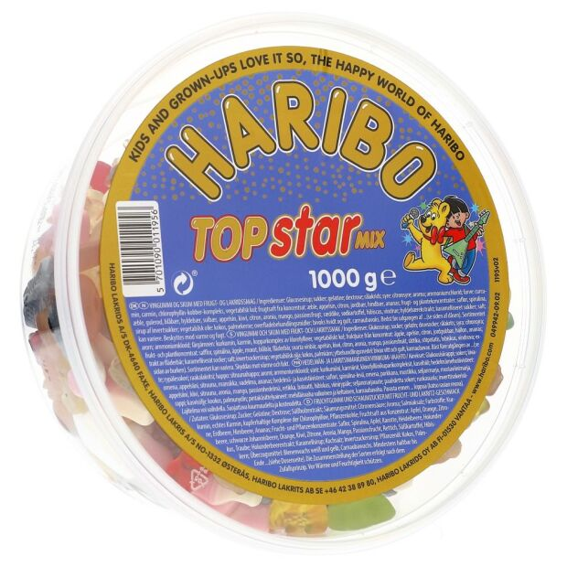 Haribo Top Star Mix 1 kg