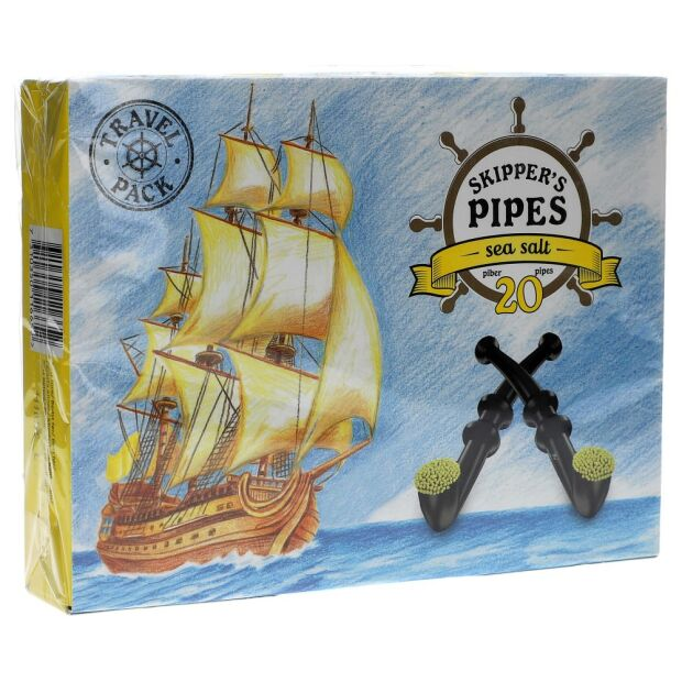Skipper´s Pipes Seasalt 340g
