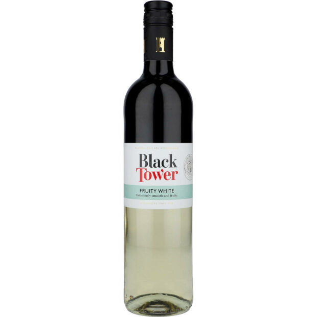 Black Tower Fruity White 9,5% 0,75 ltr.