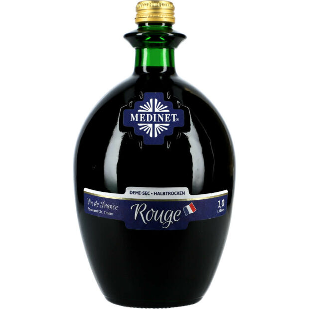 Medinet Rouge 12% 1 ltr.