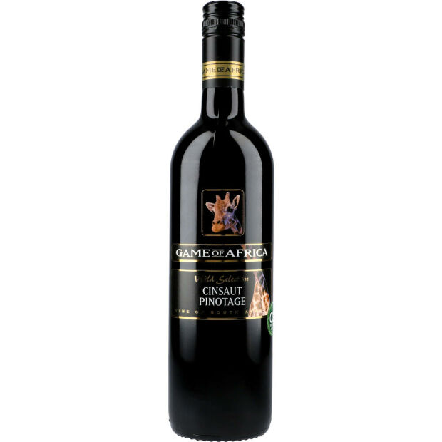 Game of Africa Cinsaut Pinotage 14% 0,75 ltr.