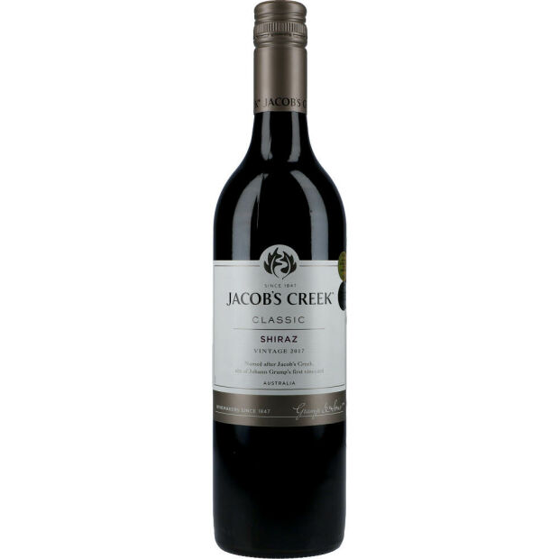 Jacobs Creek Shiraz 13,9% 0,75 ltr.