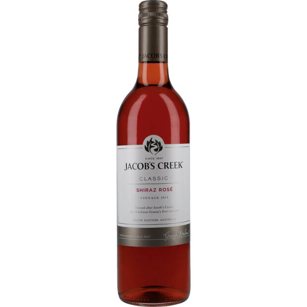 Jacobs Creek Shiraz Rosé 12%  0,75 ltr.
