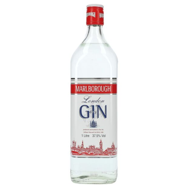 Marlborough London dry Gin 37,5% 1 ltr.