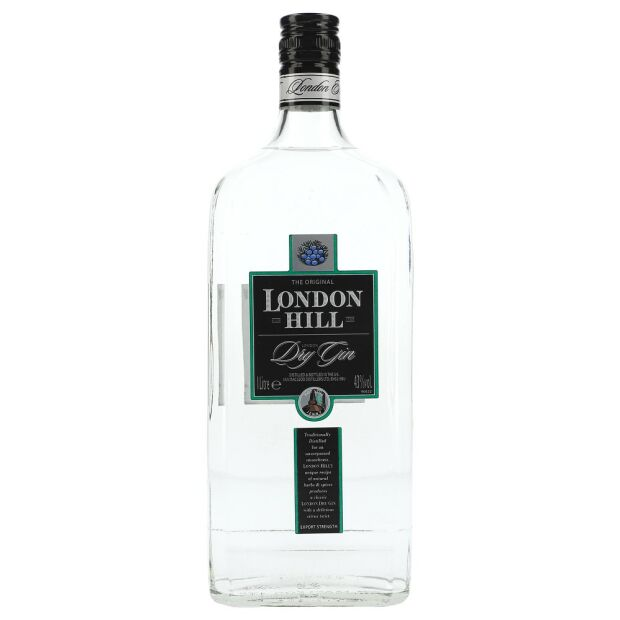London Hill Dry Gin 43% 1 ltr