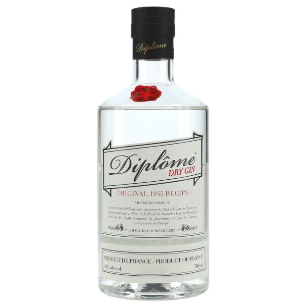 Diplome Dry Gin 44% 0,7 ltr.