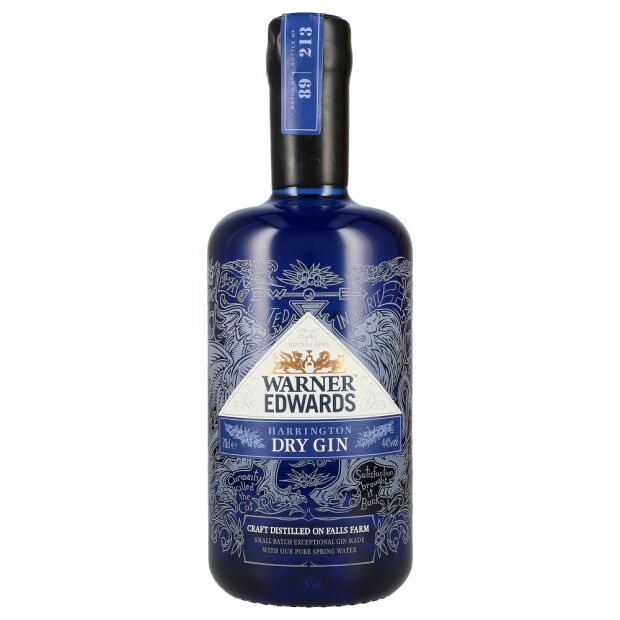 Warner Edwards Dry Gin 44% 0,7 ltr
