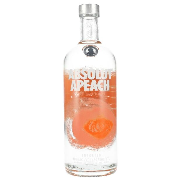 Absolut Apeach 40% 1 ltr.