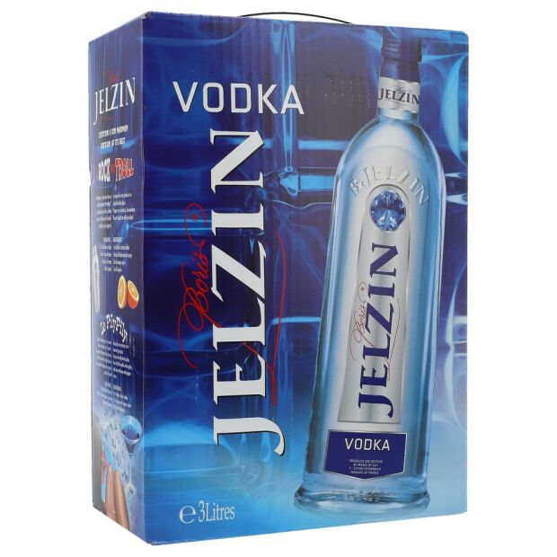 Boris Jelzin Vodka 37,5%  3 ltr.