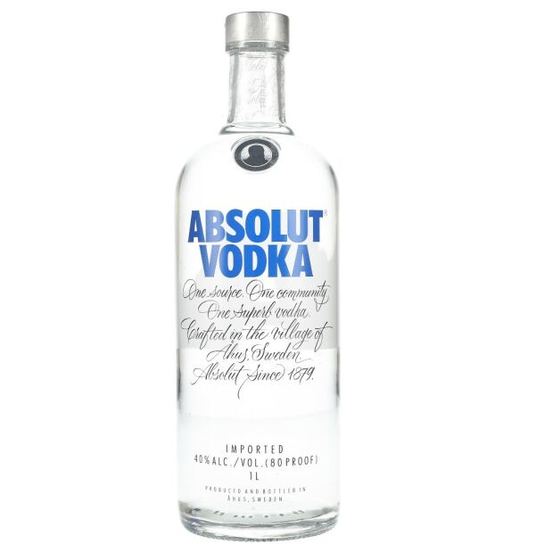 Absolut Vodka 40% 1 ltr.