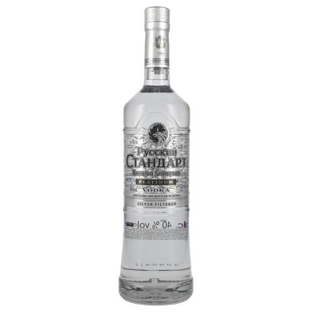 Russian Standard Platinum Vodka 40% 1 ltr.