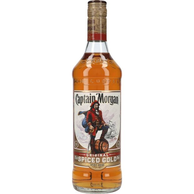 Captain Morgan Spiced Gold 35% 0,7 ltr.