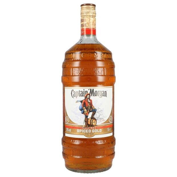 Captain Morgan Spiced Gold 35% 1,5 ltr.