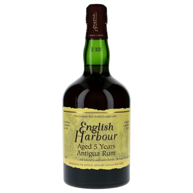 English Harbour 5 Years 40% 0,7 ltr