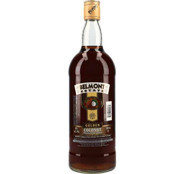 Belmont Estate Gold Coconut Rum 40% 1 ltr