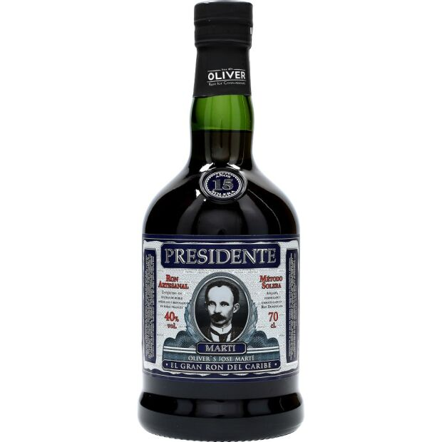 Presidente 15 Years 40% 0,7 ltr.