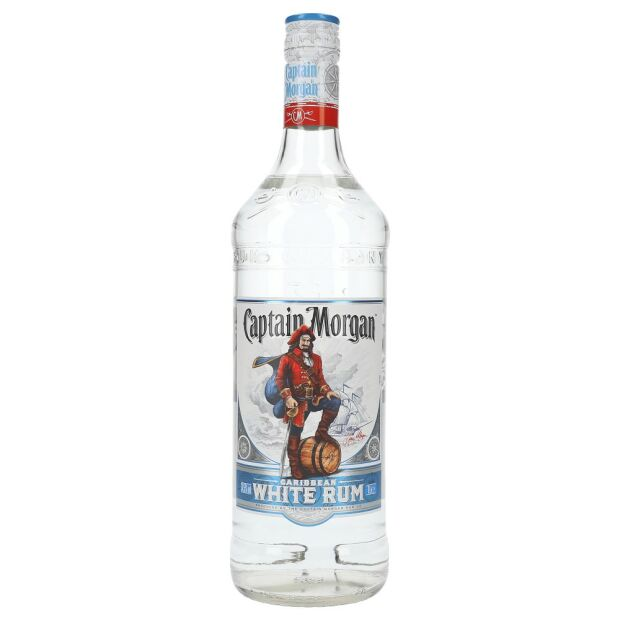 Captain Morgan White Rum 37,5% 1 ltr.