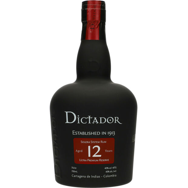 Dictador 12 Years 40% 0,7 Ltr