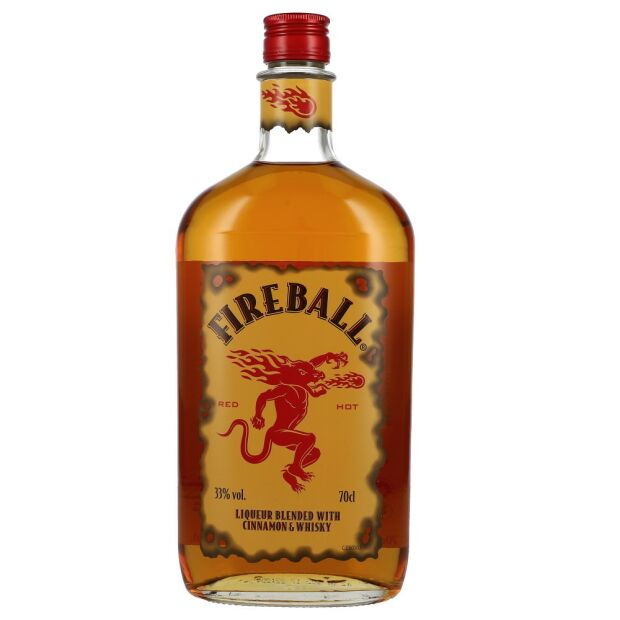 Fireball Cinnamon Whisky 33% 0,7 ltr.