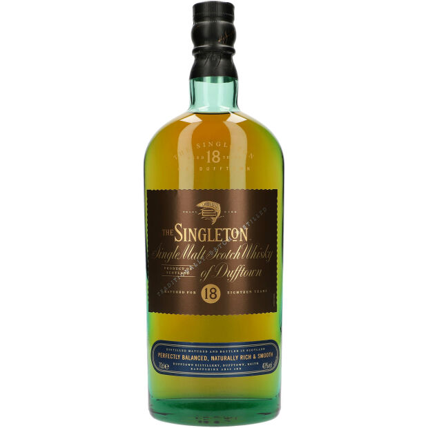 The Singleton 18 Years 40% 0,7 ltr.