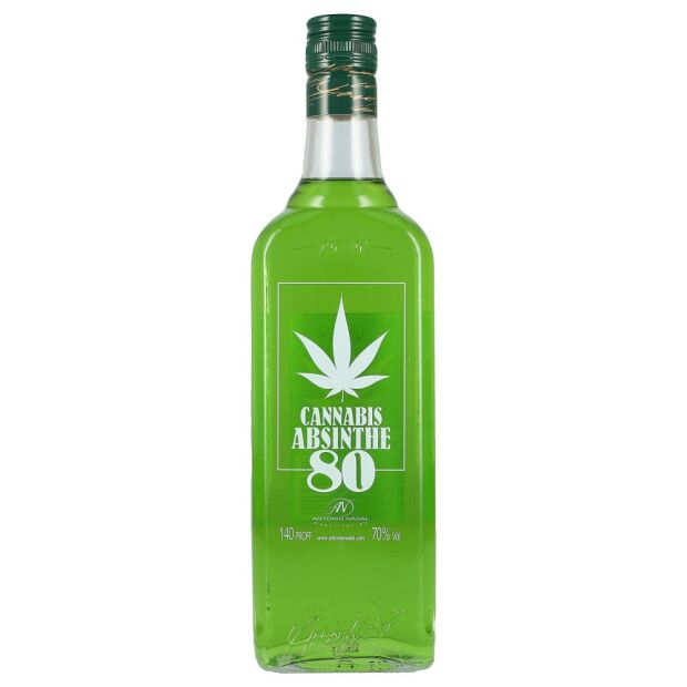 Cannabis Absinth 80 70% 0,7 ltr.
