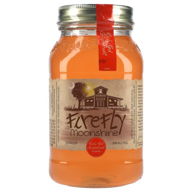 Firefly Moonshine Ruby Red Grapefruit 35% 0,75 ltr