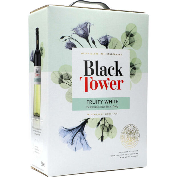Black Tower Fruit White 10% 3 ltr.