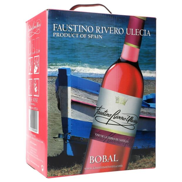 Faustino Rivero Rose 11% 5 ltr.