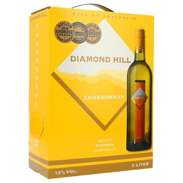 Diamond Hill Chardonnay 13,5% 3 ltr.
