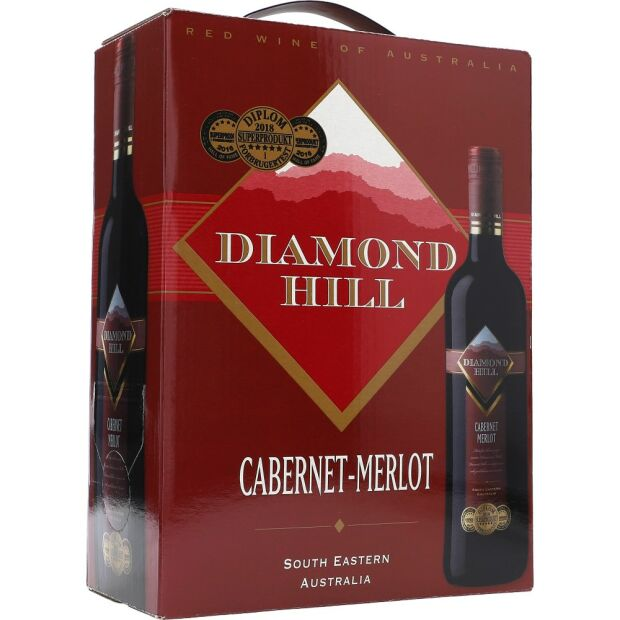 Diamond Hill Cabernet / Merlot 13,5% 3 ltr.