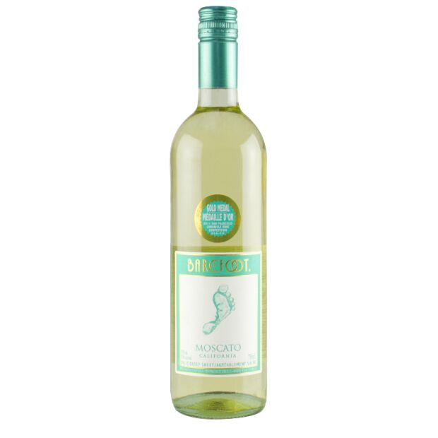 Barefoot Moscato 9% 0,75ltr