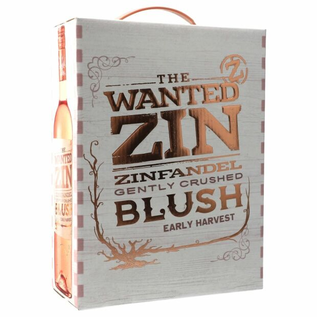 The Wanted Zinfandel Blush 12,5% 3 ltr