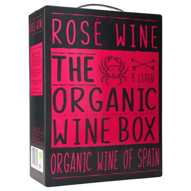 The Organic Wine Box Rosé 3 ltr.