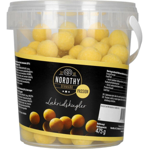 Nordthy Lakridskugler Passion 475g