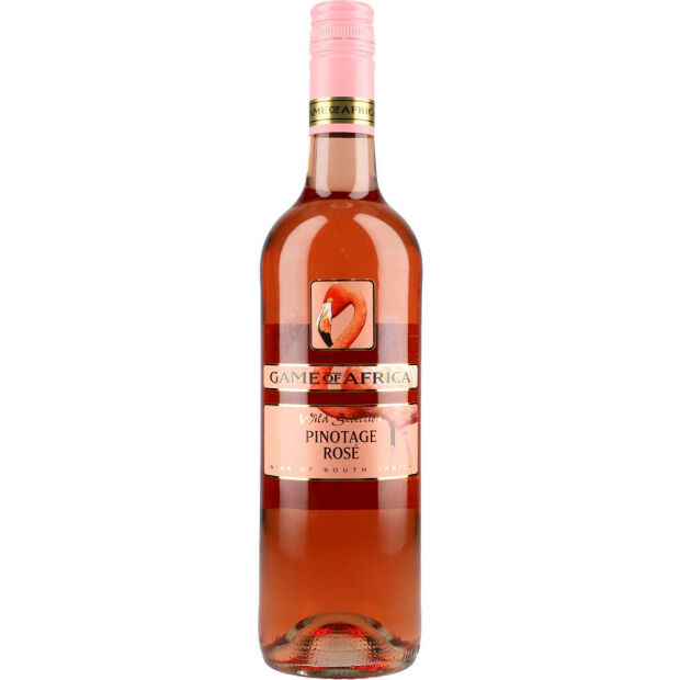 Game of Africa Pinotage Rosé 14% 0,75 ltr.