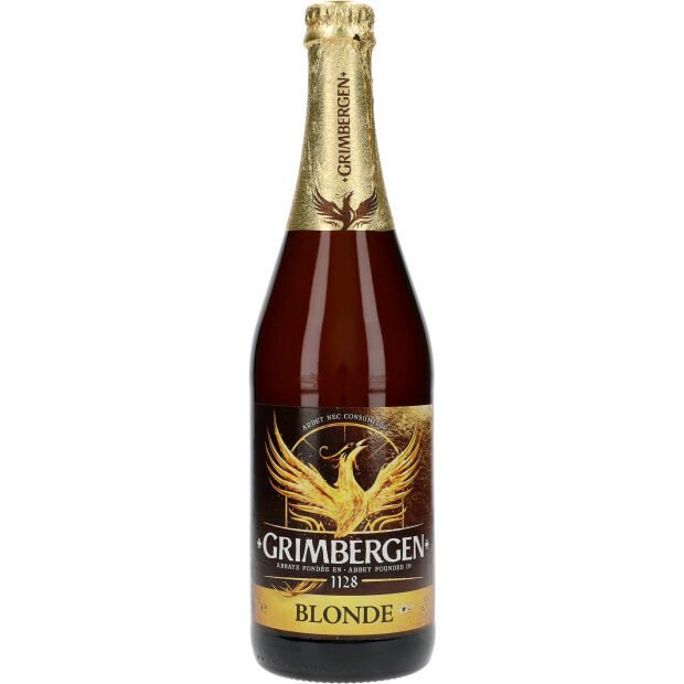 Grimbergen Blond Craft Bier 6,7% 0,75 ltr.