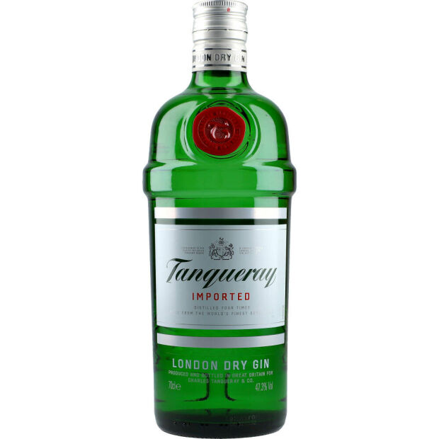 Gin Tanqueray 47,3% 0,7 ltr.