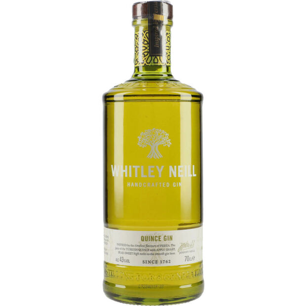 Whitley Neill Quince Gin 43% 0,7 ltr