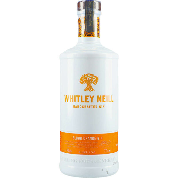 Whitley Neill Blood Orange Gin 43% 0,7 ltr