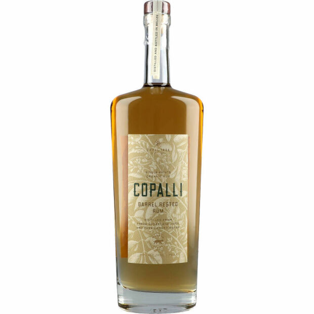 Copalli Barrel Rested Rum 44% 0,7 ltr