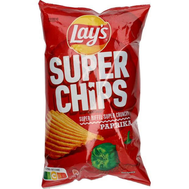 Lay´s Super Chips Paprika 175g