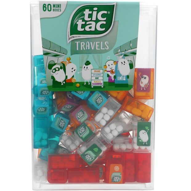 Tic Tac Mixed Box 228g